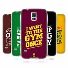 HEAD CASE DESIGNS FUNNY WORKOUT STATEMENTS GEL CASE FOR SAMSUNG GALAXY S5 S5 NEO