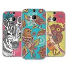HEAD CASE DESIGNS FANCIFUL INTRICACIES SOFT GEL CASE FOR HTC ONE M8