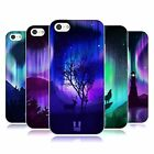 HEAD CASE DESIGNS NORTHERN LIGHTS SOFT GEL CASE FOR APPLE iPHONE 5C