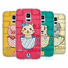 HEAD CASE DESIGNS TEACUP PETS SOFT GEL CASE FOR SAMSUNG GALAXY S5 MINI