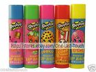 *SHOPKINS Lip Balm/Gloss SNACK FLAVORED Scented HOLIDAY For Kids *YOU CHOOSE*