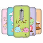 HEAD CASE DESIGNS ELEFANTI KAWAII CASE IN GEL PER MOTOROLA MOTO G (3rd Gen)