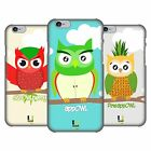 HEAD CASE DESIGNS FRUITOWLICIOUS RUCKSEITE HÜLLE FÜR APPLE iPHONE 6 6S
