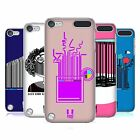 HEAD CASE DESIGNS BARCODE COVER RETRO RIGIDA PER APPLE iPOD TOUCH 5G 6G
