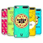 HEAD CASE DESIGNS FOREVER PIZZA COVER RETRO RIGIDA PER APPLE iPOD TOUCH 5G 6G