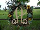 """Wooden Letters Large 18"""" X 1/4 Monogram Font Wall Hanging"""