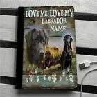 Personalised Black Labrador Puppy Dog iPad,Mini ,Air Pro Cover Flip Case Gift