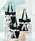 WEDDING PARTY GIFT TOTE BAG FLIP FLOP SET-BRIDE AND/OR MAID OF HONOR