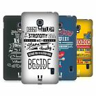 HEAD CASE DESIGNS SCIENTIFIC PICK-UP LINES HARD BACK CASE FOR LG PHONES 3