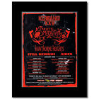 BULLET FOR MY VALENTINE - UK Tour 2006 Matted Mini P...