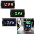 DC4.5-30V Car Dashboard Digital Led Display Hour Minute Second Clock Waterproof