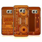 HEAD CASE DESIGNS WOODEN GADGET HARD BACK CASE FOR SAMSUNG GALAXY S7 EDGE