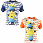 #1 Kinder T-Shirt Shirt von Minions blau orange 98 104 110 116 122 128