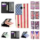 Wallet Flip Phone Cover Case and Screen Protector for Huawei Tribute / Fusion 3