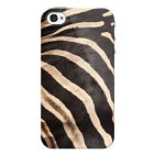 Animal Print Snap on Hard Back Phone Case Skin / Fur Apple iPhone 4 Cover
