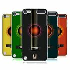 HEAD CASE DESIGNS GUITARRA ACÚSTICA CASO TRASERO PARA APPLE iPOD TOUCH 5G 6G