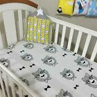 Newborn Boy Girl Bedding Sheet Toddler Junior Bed Bumper Baby Cot Fitted sheets