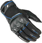 Joe Rocket Super Moto Glove Leather & Poly Black Blue