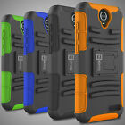 Holster Cover Rugged Tough Hybrid Belt Clip Phone Case for ZTE Grand X 3 Phone