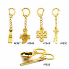 Feng Shui Key Chain Chinese Japanese Lucky Keyring Metal Pendant Wealth Pray