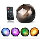 Crystal Ball Wireless Bluetooth Speaker LED Lights Party With Remote Controller