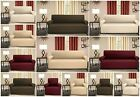Easy Fit Elastic Stretch Esther Sofa Protectors Slip Over 2 Seater 3 Seater