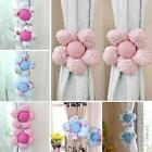 2Pcs Flower Children Bedroom Window Curtain Tieback Hold Rope Home Decoration