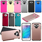 Samsung Galaxy J7 HARD Astronoot Hybrid Rubber Case Phone Cover + Screen Guard