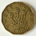 VINTAGE THREEPENCE/THREPENNY BIT COIN-YOUR CHOICE OF DATE 1937-1952