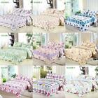 3x Bedding Set Polyester Patchwork Quilt Bedspread Coverlet Queen/King Size Z9V6