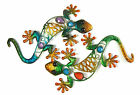 Decorative Metal Wall Art 26 cm Gecko