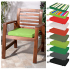 Tie On Seat Pad Outdoor / Waterproof Patio Garden Chair Bench Furniture Cushion