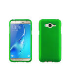 For Samsung Galaxy J7 Rubberized HARD Case Snap Phone Cover + Screen Protector