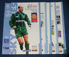 COVENTRY CITY HOME PROGRAMMES 1994-1995