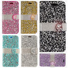 For Samsung Galaxy Note 8 Premium Bling Diamond Wallet Case Flip Pouch Cover