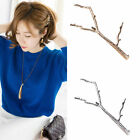 Fashion Gold Silver Tree Branch Hairpin Metal Barrette Clip Hair Accessories 1Pc