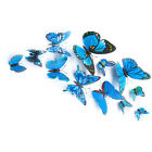 Room Interior Decoration 3D Butterflies Wall Stickers Art Mural Decal 12pc sell