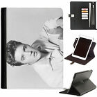 Elvis Presley Luxury Apple ipad 360 swivel leather case cover with card slots