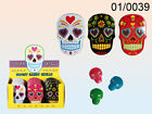 Sugar Skulls - Pink / Blue / Green Day of the Dead Sweets Candy