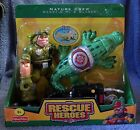RESCUE HEROES 2005 NATURE CREW DEWY C.M & GLADE FIGURE SET