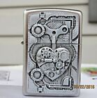 ZIPPO (STEAMPUNK HEART) WITH CHROME FINISH- BRAND NEW DESIGN FOR SPRING 2016
