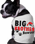 Big Brother Pirate Skull Dog Shirt Personalized Name Doggy Fun Doggy Clothing