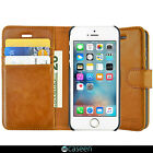 For iPhone X/10/ 8/ 7/ 6S Plus/ SE Luxury Leather Flip Wallet Stand Case Cover