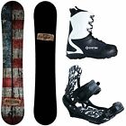 New 2016 Camp Seven Drifter Snowboard + APX Mens Bindings + APX Boots Package