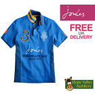 Joules Watergate Bay Mens Polo Shirt (S) FREE UK SHIPPING
