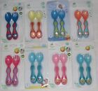 Disney Mickey Minnie Mouse Pooh Tigger Cutlery 4 Mths Bpa Free New Colour
