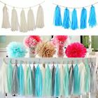 10 Bags Tissue Paper Tassels Bunting Ballroon Party Wedding Birthday Home Decor