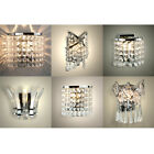 Modern Acrylic Crystal LED Indoor Wall Sconce Chandelier Light Fittings Lights