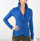 MET in Jeans COLLOROUGH Stretch Plush slim jacket long sleeves in Royal Blue