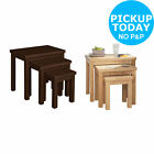 HOME Gloucester Nest of 3 Tables - Choice of Colour -From the Argos Shop on ebay